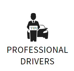 professional drivers autista cartello