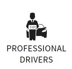professional drivers autista cartello