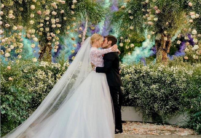 Matrimonio In Italiano : Il matrimonio italiano dellanno fedez e la ferragni sposi