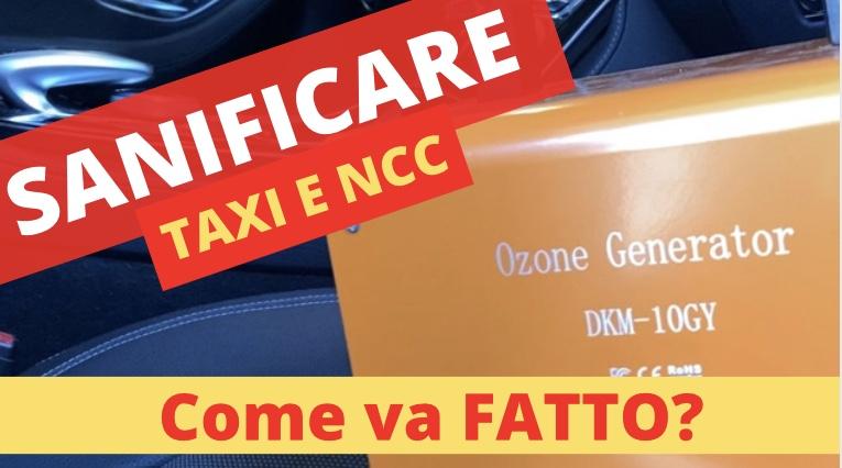 taxi a seveso sanificazione